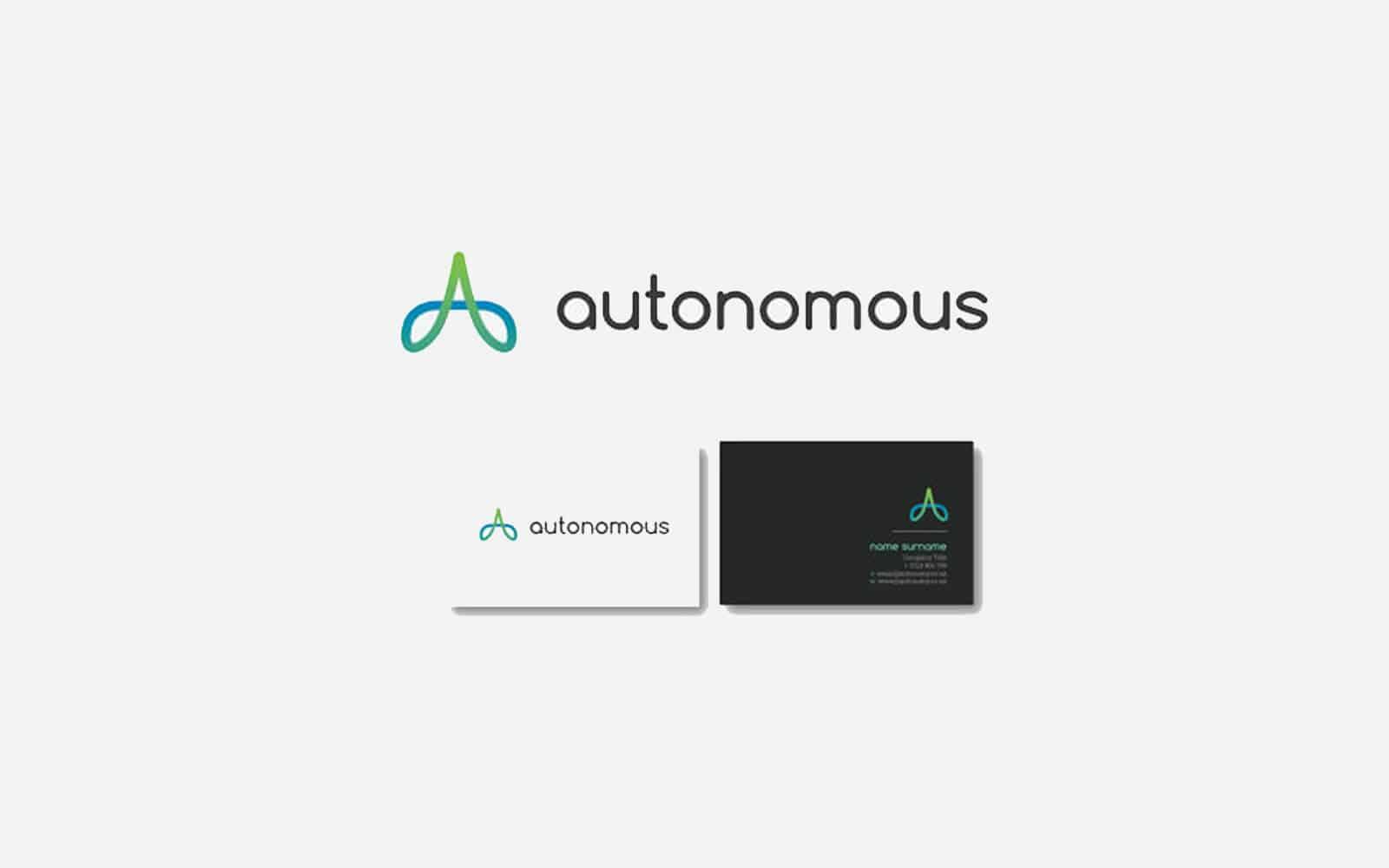 autonomous logo and cards