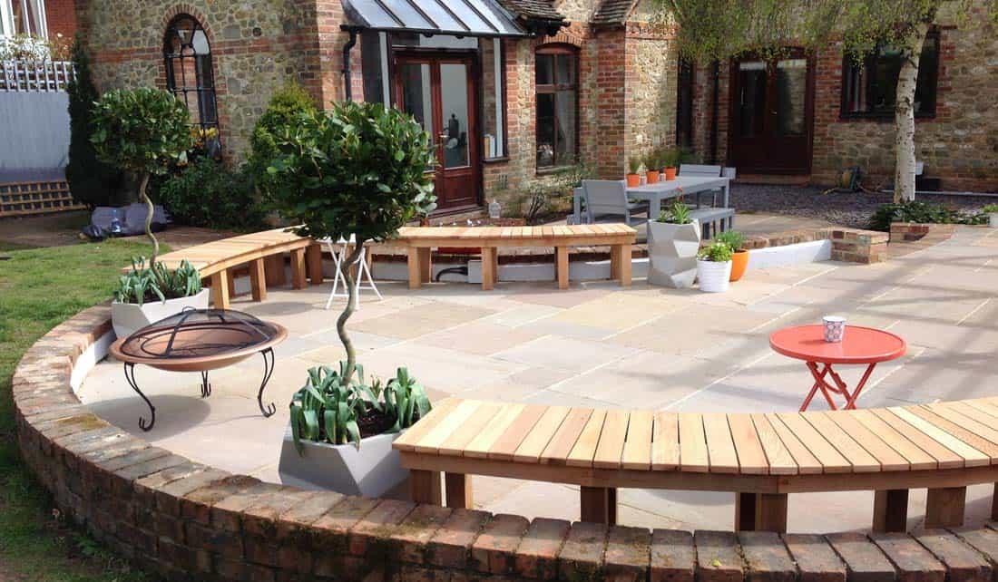 swanborough garden design case study