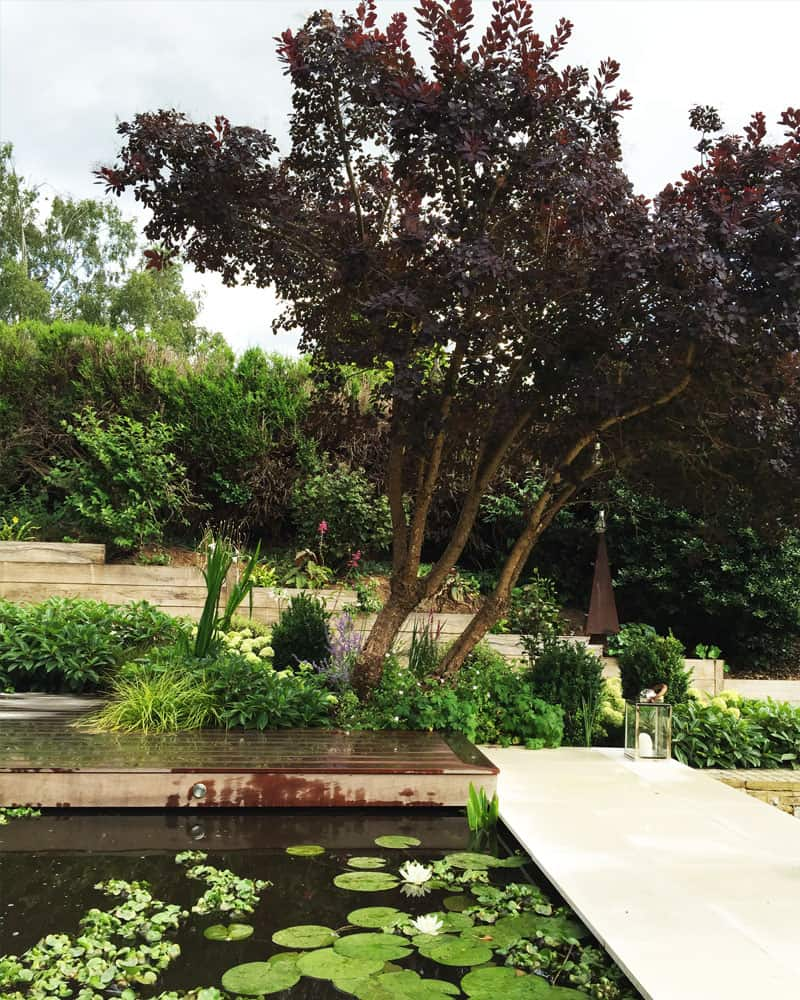 website for ben swanborough garden design