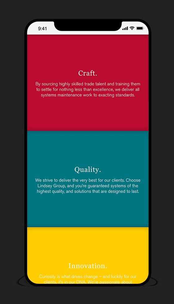 iphoneX mockup responsive web design in cambridge