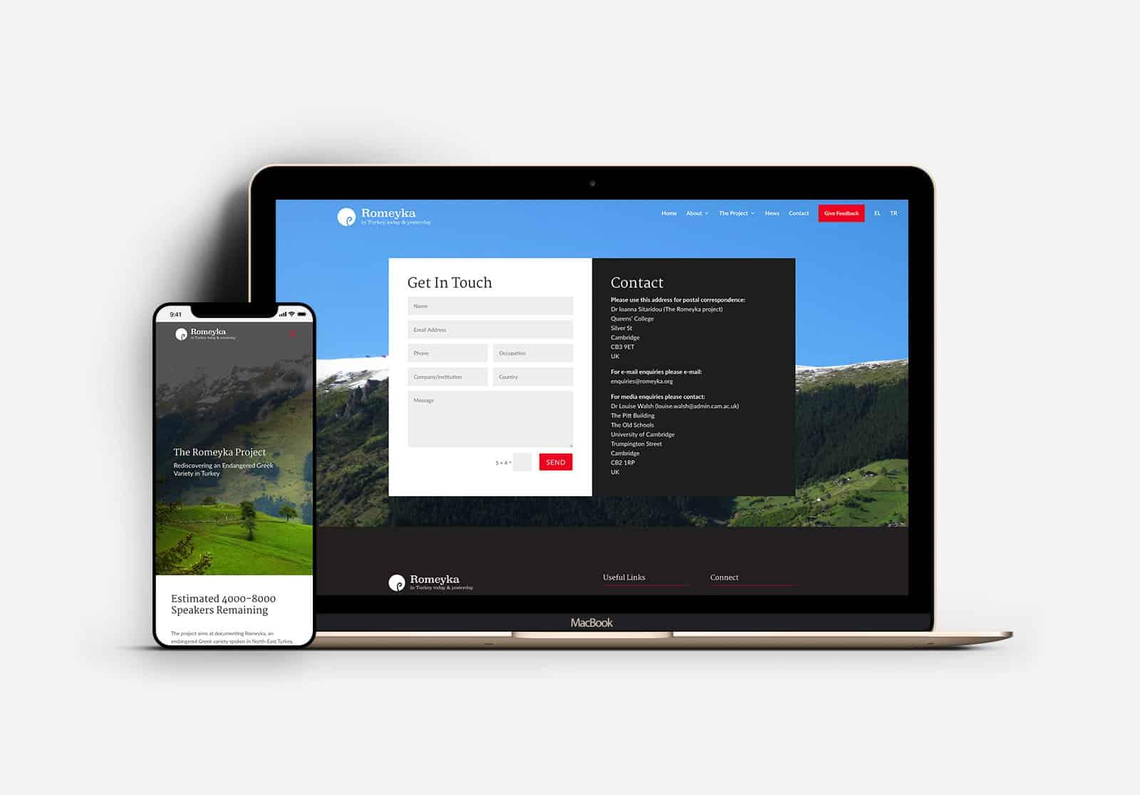 romeyka MacBook and iphone Mockup
